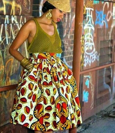 Юбки из ярких тканей, летние юбки