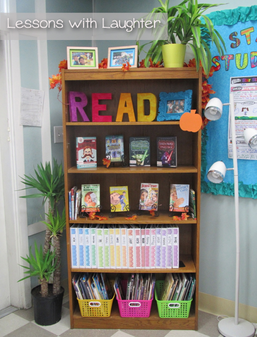 Classroom Bookcase Ideas ~ Reading and writing notebooks new covers lessons