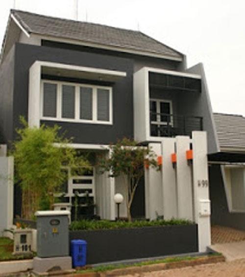 Arsitektur Gambar Rumah Minimalis Modern 2 Lantai | Design Arsitektur