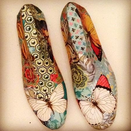 Ideas para reciclar hormas de zapatos - Ideas para decorar zapatos de nina ...