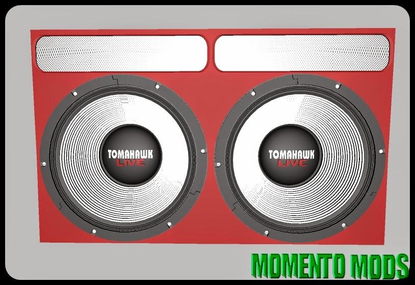 ZM - Caixa De Som Tomahawk Live