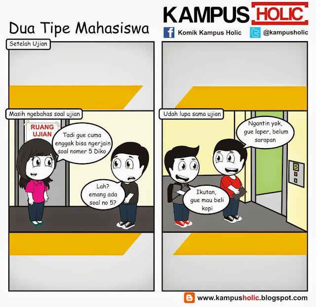 #890 Dua Tipe Mahasiswa