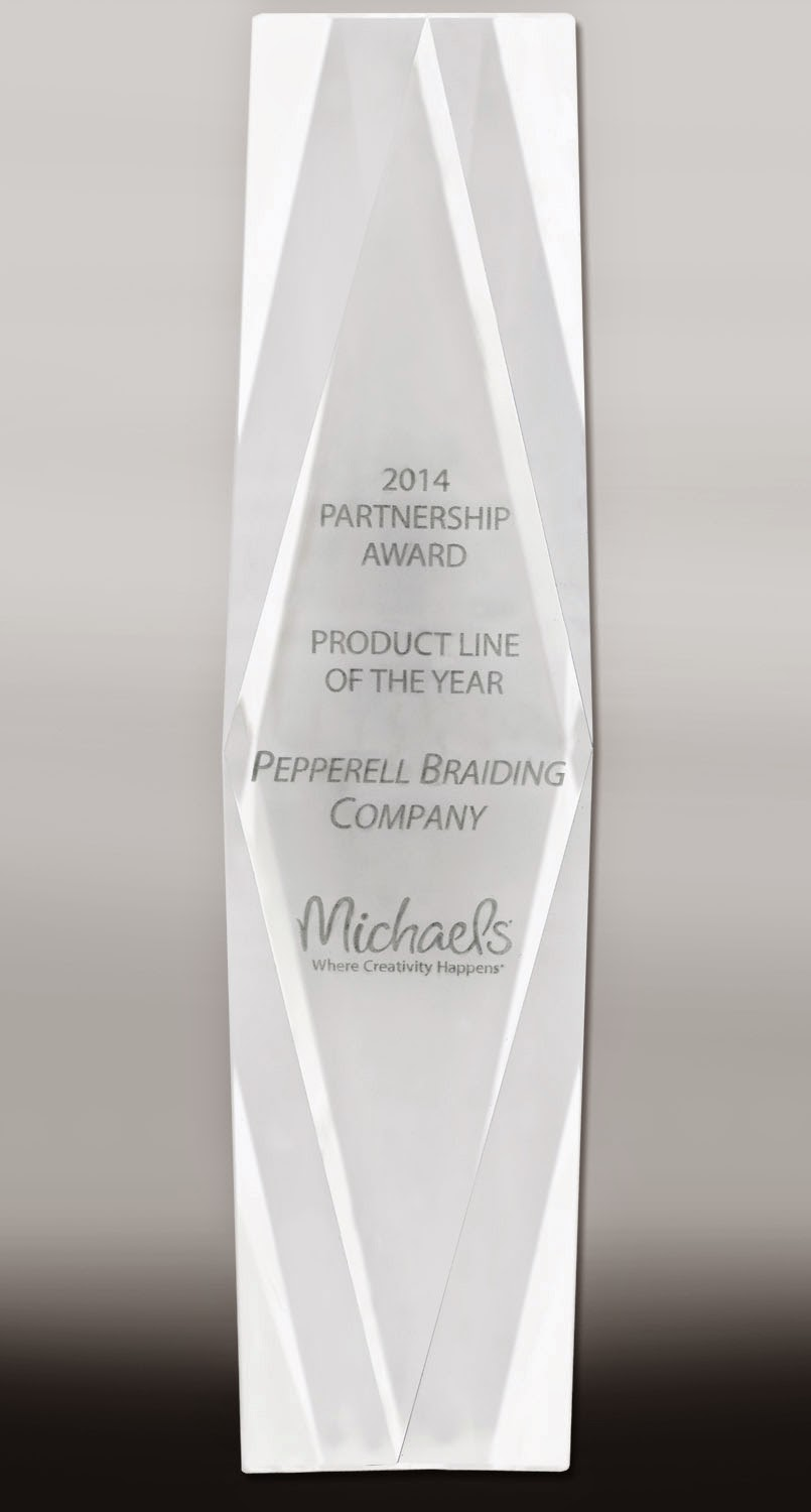 Product Line of the Year awarded from Michaels Stores, Inc.