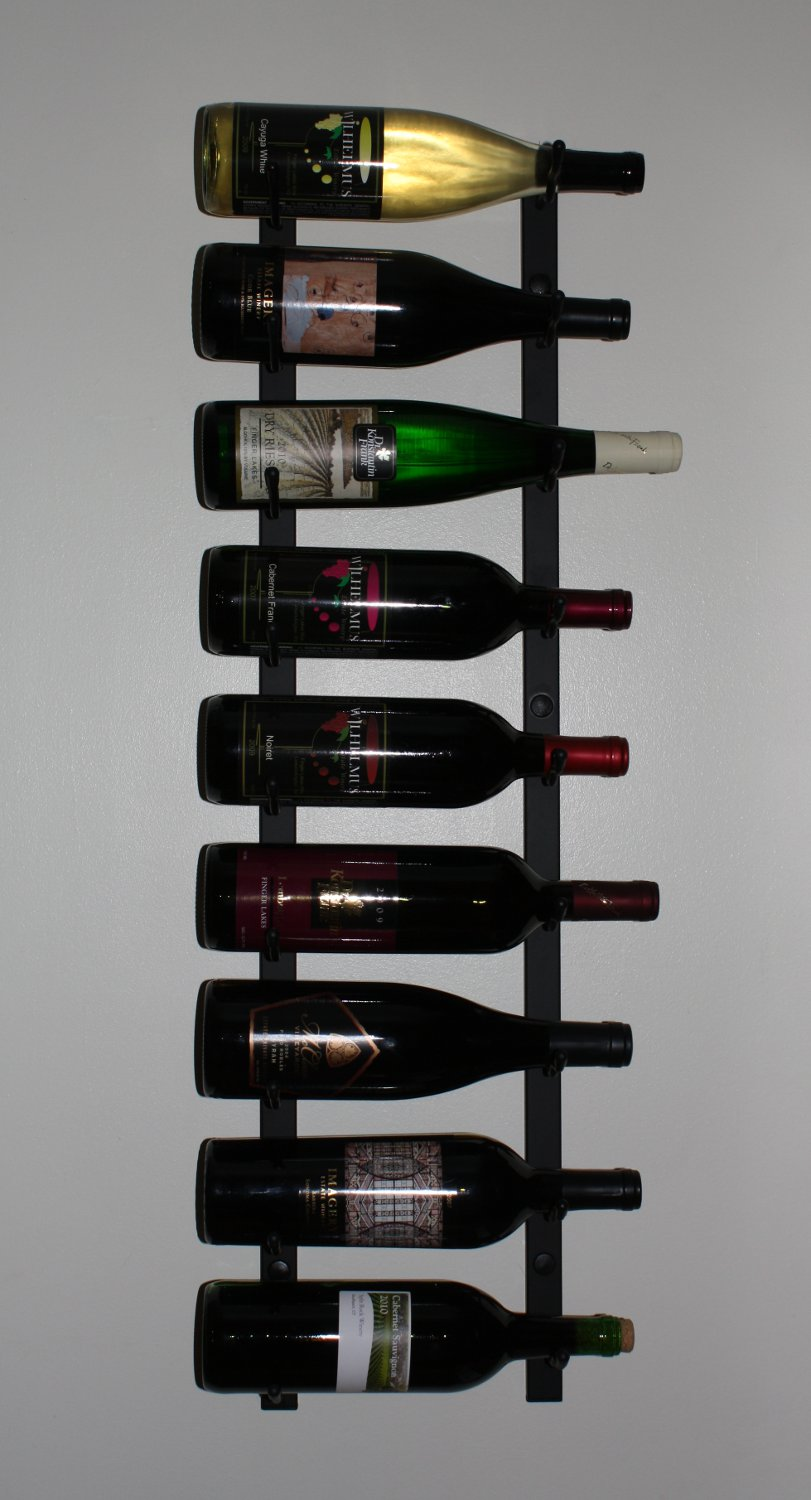 creative homemade wine racks
