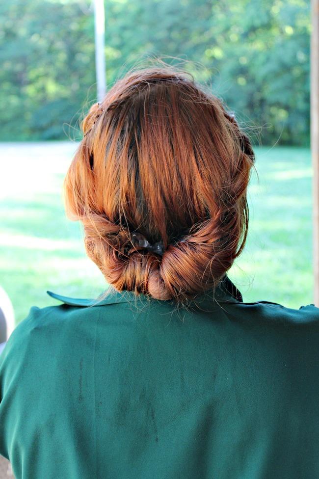 easy vintage hair for summer