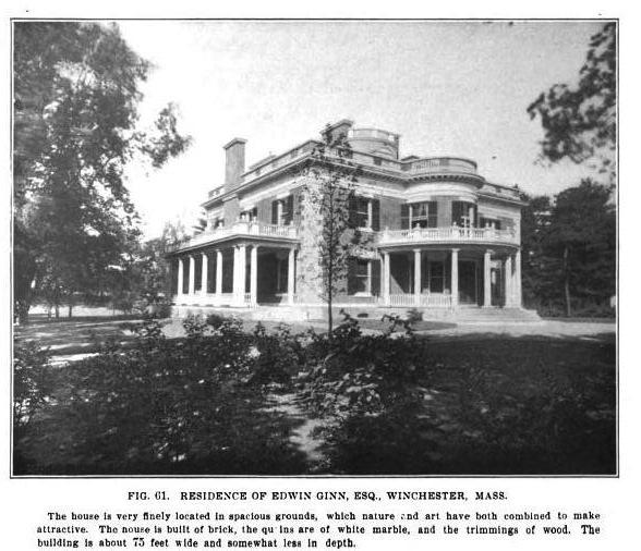 Beyond The Gilded Age: The Edwin Ginn Residence