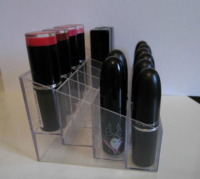 Acrylic Trapezoid Lipstick Holder 24