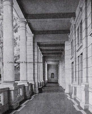 Javasche Bank, shalat Satu galeri (Sisi barat) di Kali Besar Selatan; Batavia - Jakarta 1919
