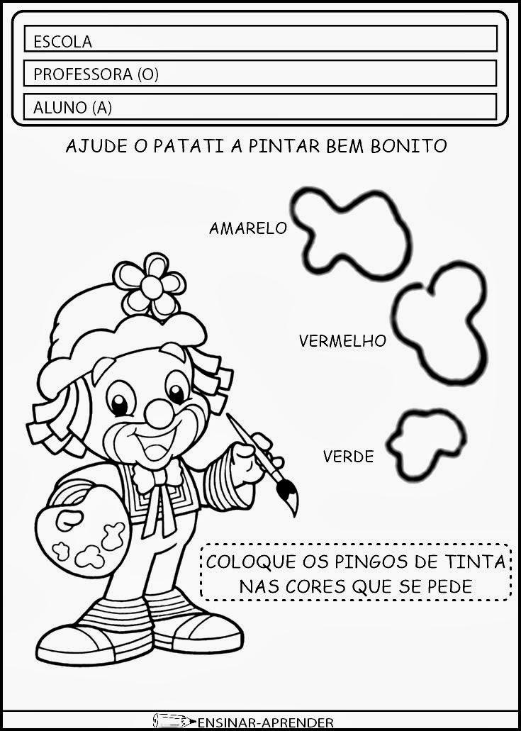 ATIVIDADES DIA DO CIRCO - PATATI E PATATÁ