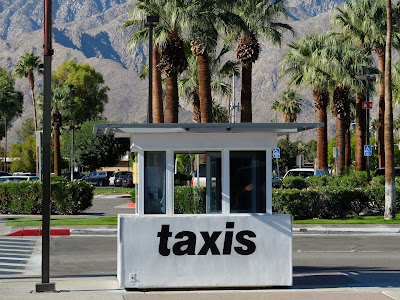 Palm Springs Airport Taxi Booth