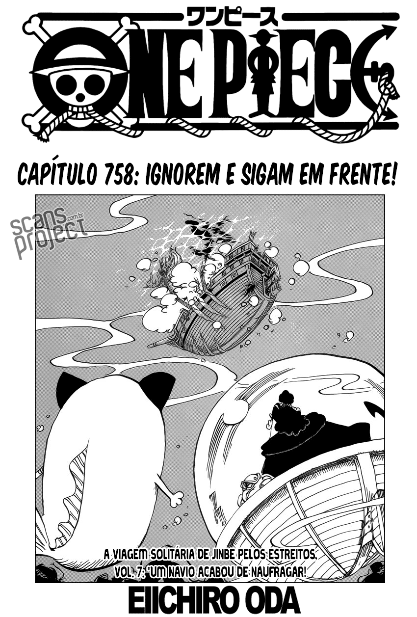 MANGÁ ONE PIECE 758 ONLINE
