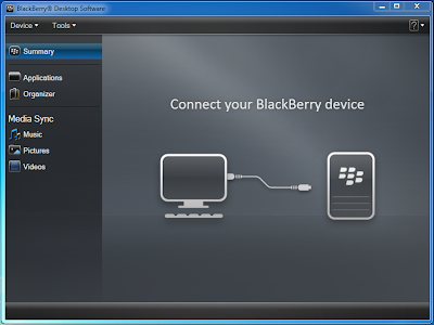 Blackberry Desktop Software Cara Backup Semua Data Blackberry Ke Komputer
