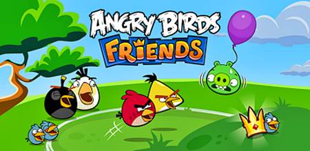 Novo game Angry Birds Friends para Android