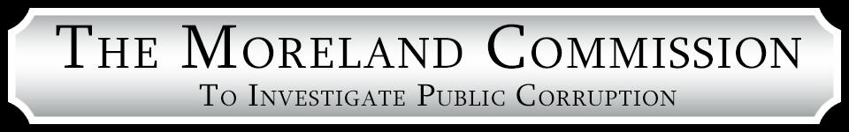 The Moreland Commission on Public Corruption is Corrupt