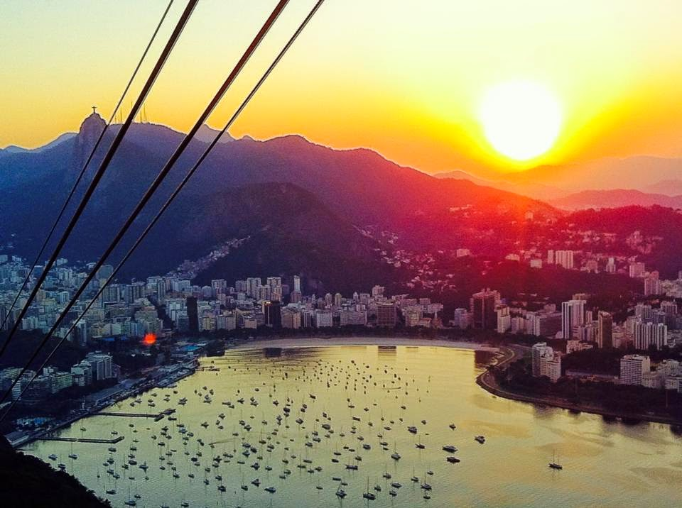 Sunset over Rio - 2014