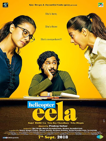Poster Of Hindi Movie Helicopter Eela 2018 Full HD Movie Free Download 720P Watch Online