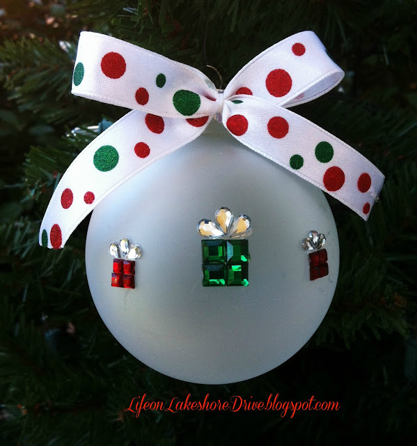 DIY Christmas ornament tutorial