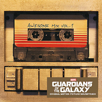 CDs in my collection: Guardians of the Galaxy Awesome Mix Vol. 1