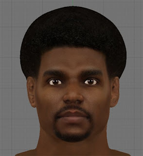 NBA 2K13 Mod - Cyberface of Andrew Bynum