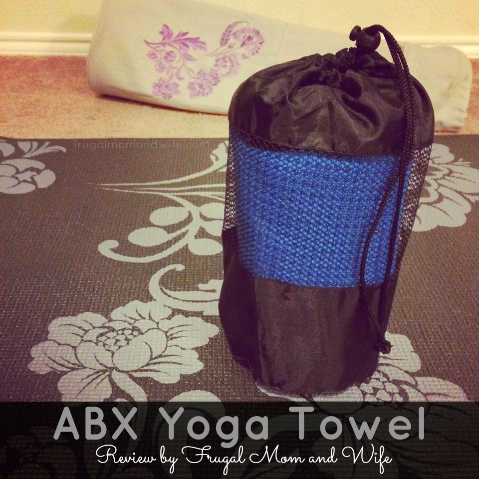 Frugal Mom And Wife: ABX Yoga Towel Review
