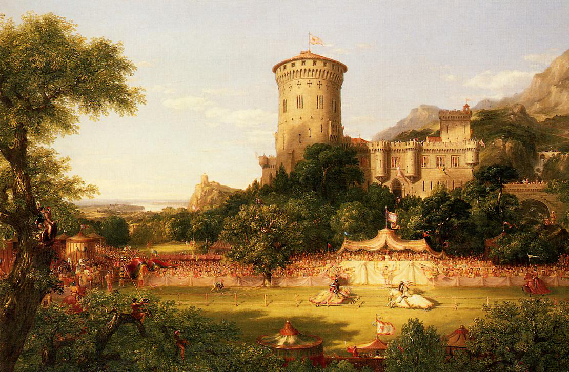 the life and paintings of thomas cole Biography thomas cole, america's leading landscape painter during the first  half of the nineteenth century, was born on february 1, 1801 in bolton-le-moor,.