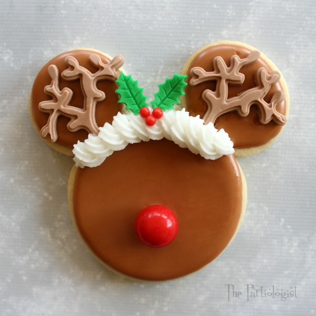 santa mickey minnie mouse - Mickey Mouse Christmas Cookies