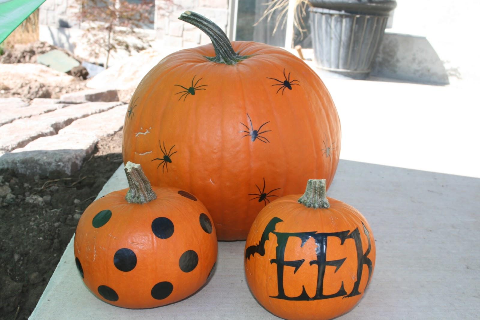 Creative Juices Halloween Pumpkin Vinyl