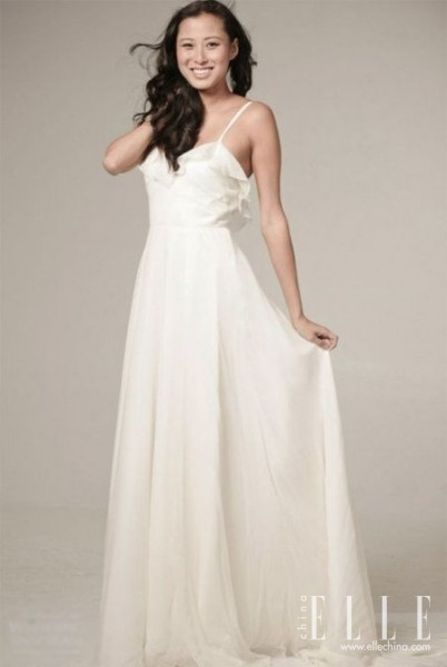 Celebrity dresses simple and vintage wedding dress do you love it
