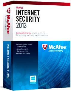 McAfee Internet Security 2013 License Key Free For 6Months