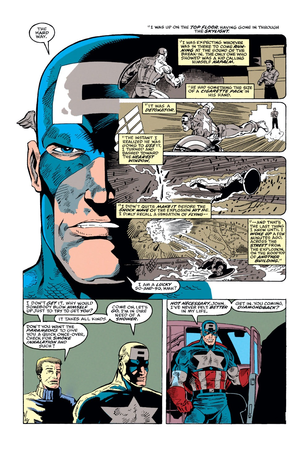 Captain America (1968) Issue #373 #306 - English 6
