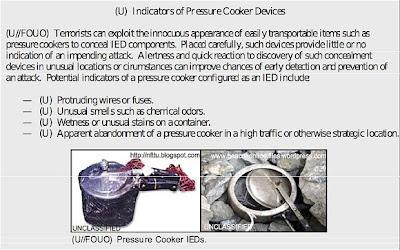 Islamic Pressure Cooker Bomb