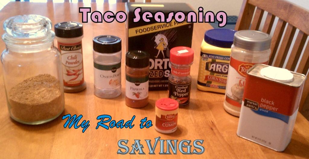 taco seasoning 1 2 cup chili powder 1 4 cup onion powder 1 8 cup cumin ...