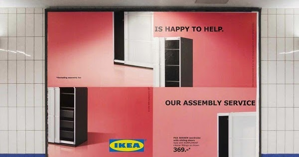 Delicieux Designtaxi   Playful IKEA Billboards Poke Fun At Its Self Assembly Furniture