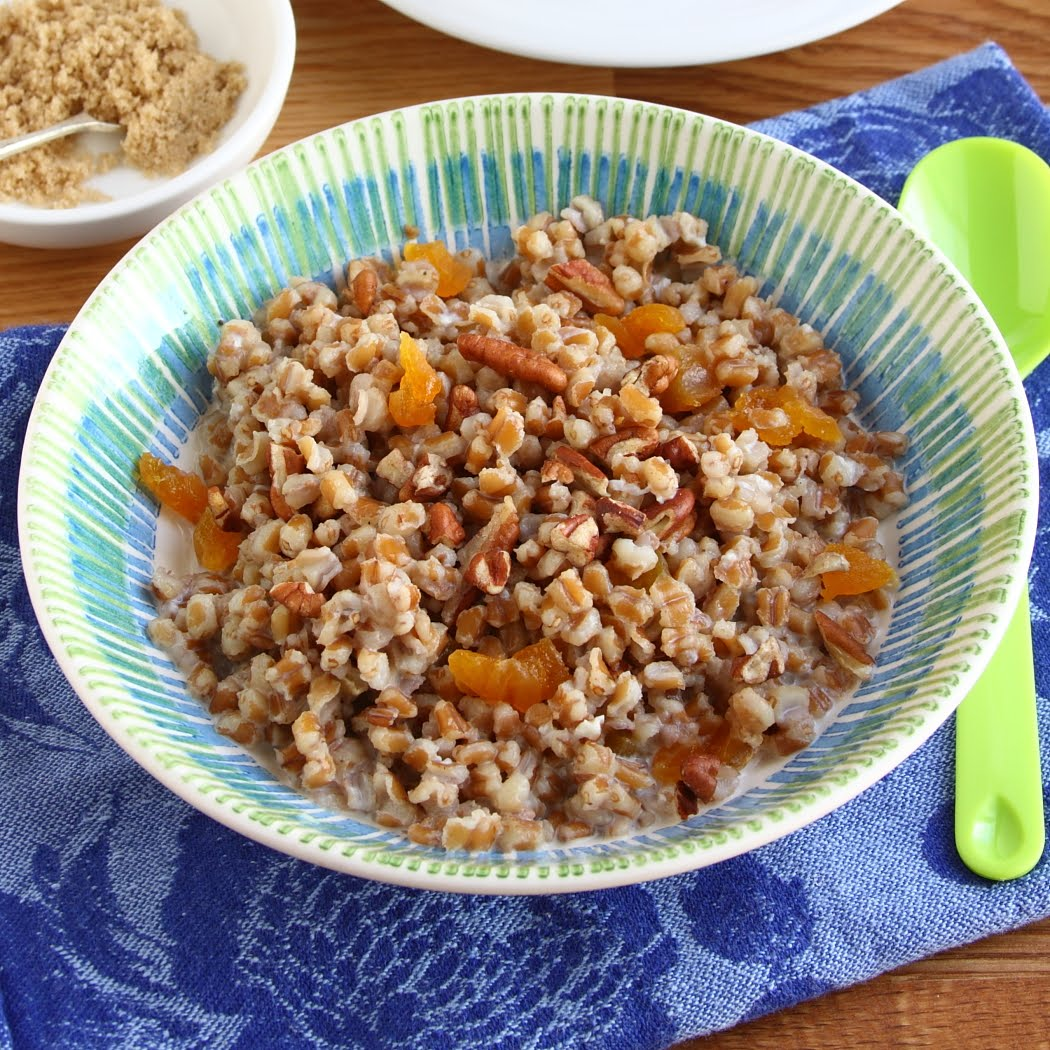 wheat berry breakfast bowl recipes dishmaps wheat berry breakfast bowl ...