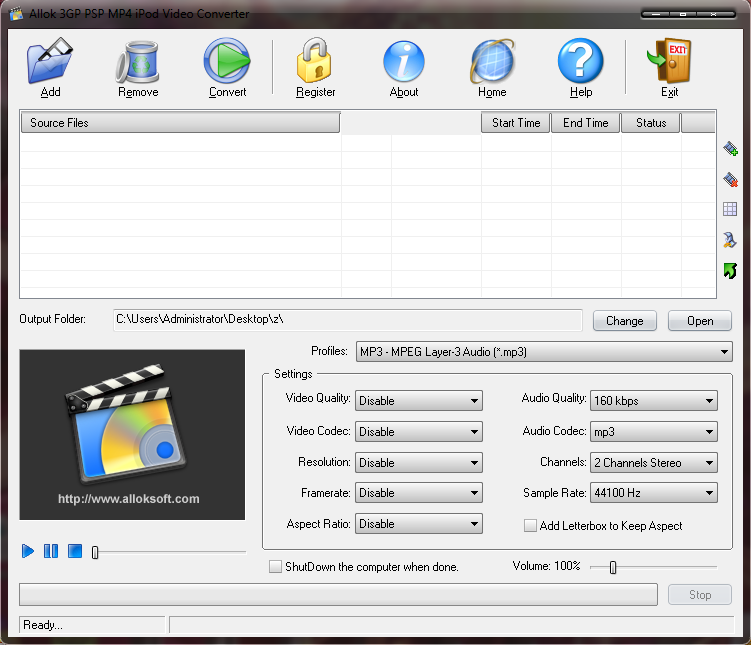 Allok video to ipod converter crack