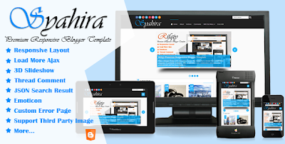 Free Download Templates SEO Responsive Blogspot and Wordpress