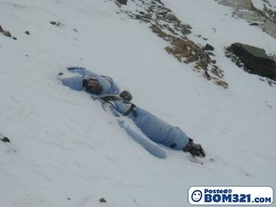 Mayat Pendaki Di Gunung Everest