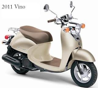 2011 Yamaha Vino 50
