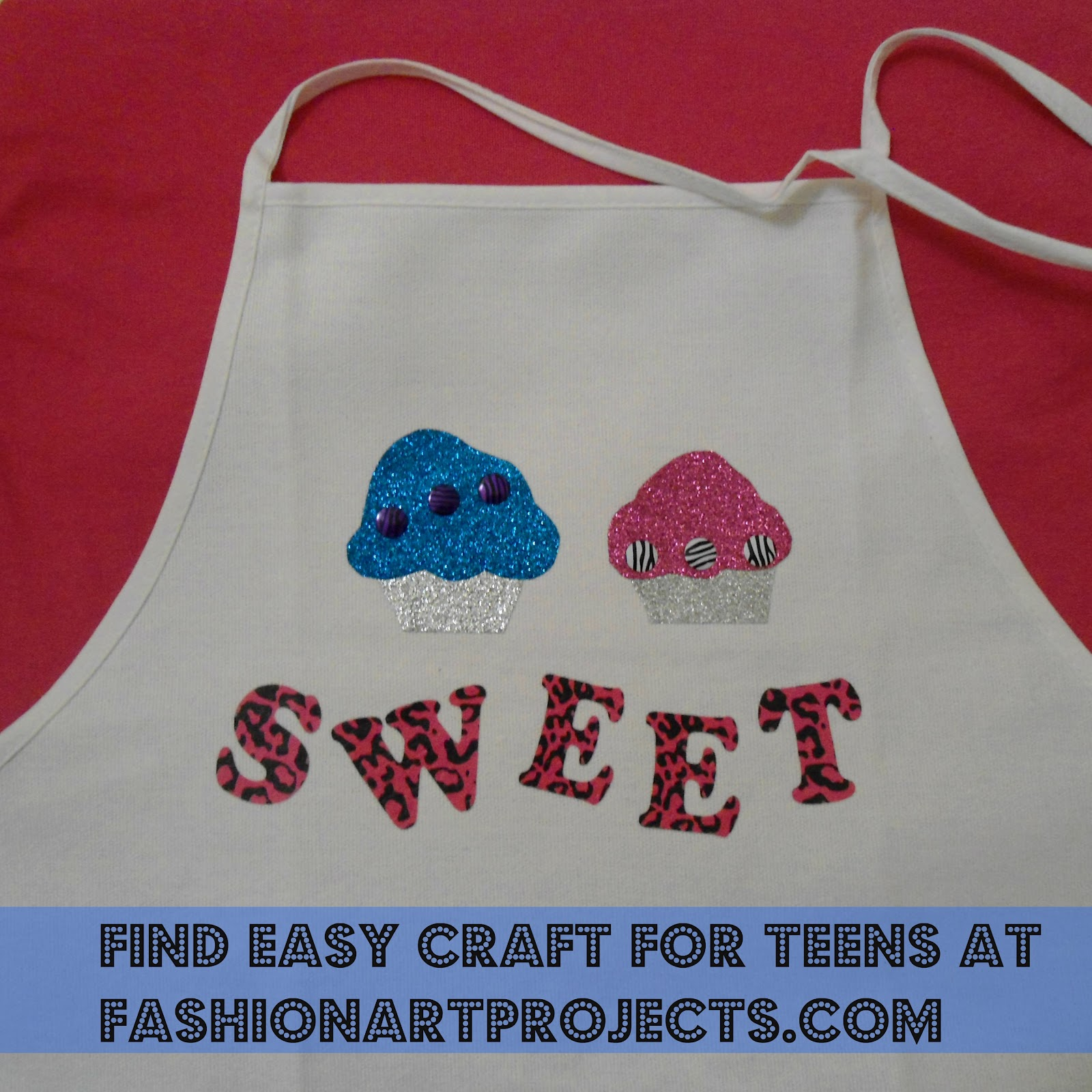 The projects featured use affordable fashion craft ...