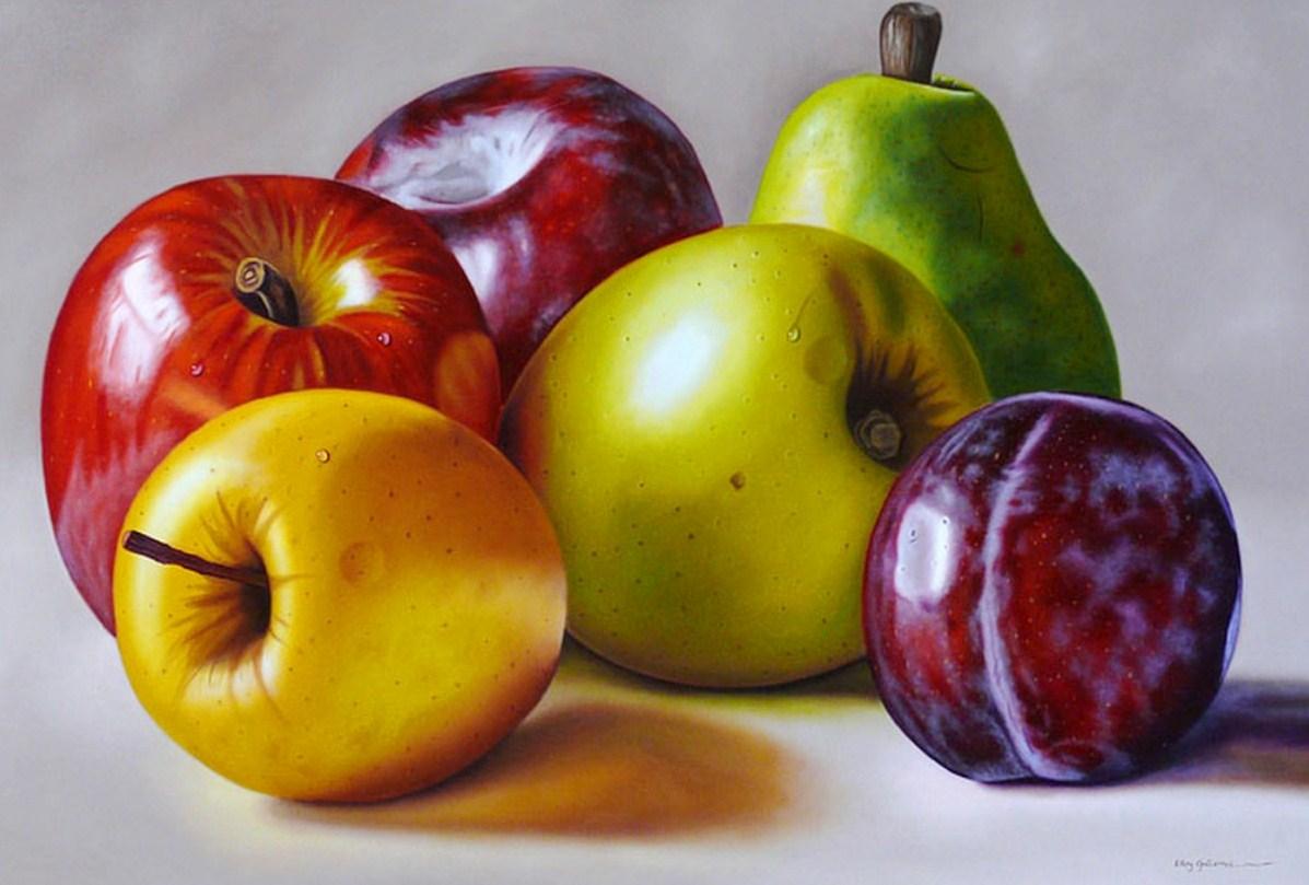 Im genes arte pinturas cuadro pintura bodeg n con frutas - Fotos de bodegones de frutas ...