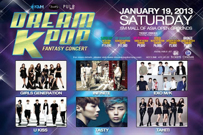 Dream KPop Fantasy Concert MOA 2013
