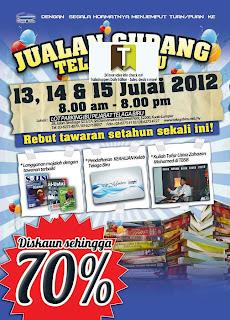 Telaga Biru Books Warehouse Sale 2012