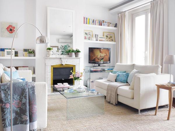 Blog achados de decora o casa decorada simples - Casa diez salones ...