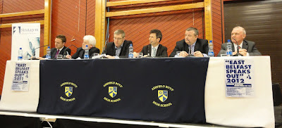 Panel at East Belfast Speaks Out 2012