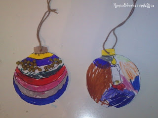 Bolitas navideñas para decorar