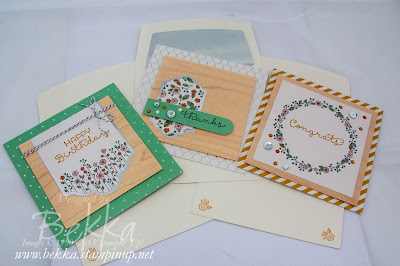 Cottage Garden Cards - get the kit and find out about making them here