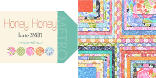Moda HONEY HONEY Quilt Fabric by Kate Spain