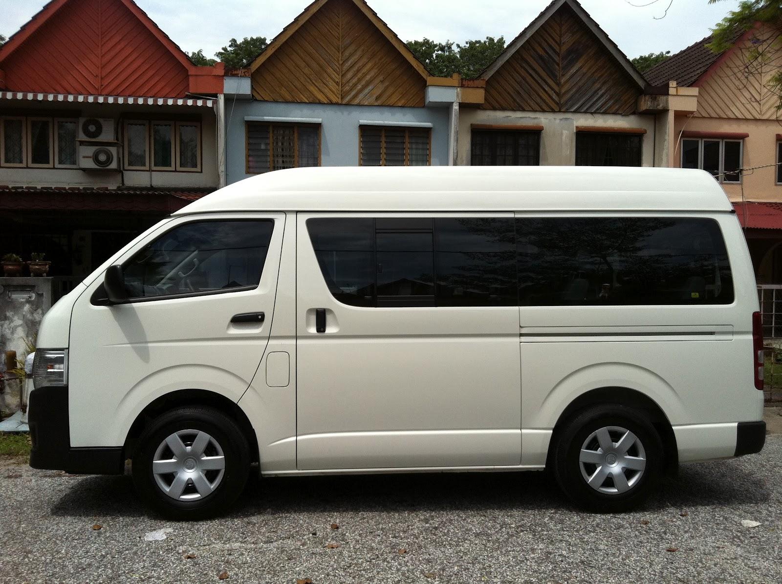 Kereta Sewa Shah Alam Selangor (Car Mpv Van Rental): Van & Harga Sewa