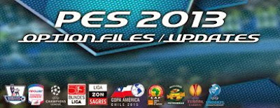 Option File PES 2013 untuk PESEdit 6.0 Update 13 Juli 2015