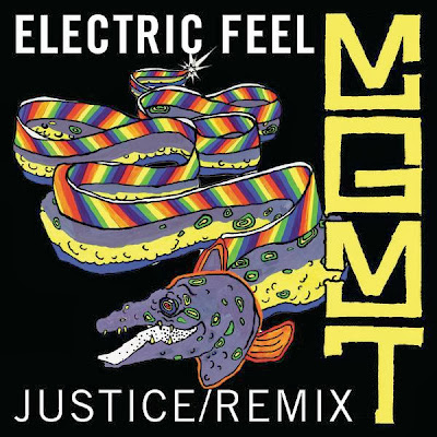 MGMT - Electric Feel (Justice Remix) - Single Cover